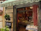 A shop at Nemi