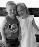 Charlie and Karlie:  Age Four