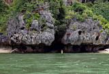 Wading in Phra Nang Bay, west