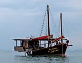 Boat, Railay Bay East