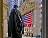 Washington facing the Stock Exchange