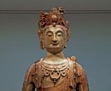 Large Buddha image, close up
