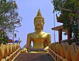 Giant Buddha image (Phra Phuttha Sukothai Walaichonlatham)