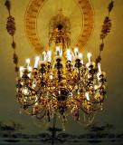 Performance room chandelier