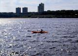 Kayaking on the Hudson