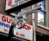 Gun shop sign