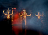 Fantasy of Thailand: entrance of the priestesses