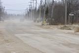 Early winter road dust 2008 November 19