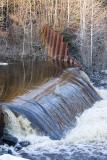 Butler Creek dam April 25th