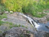 Waterfall at dawn
