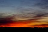 Sunset from Bear Road near Charlton Ontario