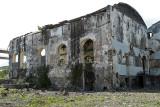 Photos prise après les combats en Yougoslavie ? Non, un autre cliché de l'île de la Réunion !