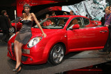 Mondial de l'Automobile 2008 - Sur le stand Alfa Roméo
