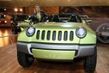 Mondial de l'Automobile 2008 - Sur le stand Jeep