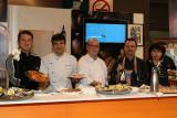 Une conviviale et délicieuse animation de restaurateurs de la Charente Maritime et de lîle de Ré