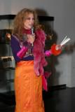 Caroline Barral créatrice de ses costumes pour le carnaval de Venise
