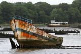 Cimetières de bateaux dans le Morbihan (Bretagne)