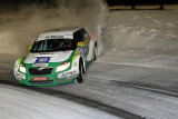 Finale du Trophée Andros 2009 à Super Besse - Cars speed racing on an ice circuit