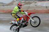 L'Enduropale 2009, course de motos sur la plage du Touquet