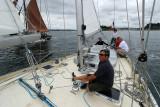 Fêtes maritimes de Douarnenez 2010 - A bord de Pen Duick III pendant la journée du samedi 24 juillet