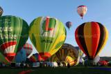 Hottolfiades 2010 - Rassemblement de ballons à Hotton - Vol du samedi matin