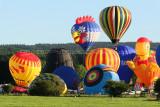 Hottolfiades 2010 - Rassemblement de ballons à Hotton - Vol du samedi soir