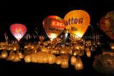 Hottolfiades 2010 – Night glow– Gonflage de nuit et lanternes le samedi soir