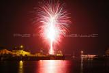 Trophée 2010 du Port de Fécamp - Photos du feu d'artifice tiré le samedi soir