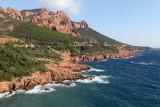 Journée du dimanche 3 octobre sur la côte varoise de Saint-Tropez au cap Esterel