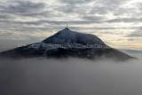 Auvergne - Randonnée sur le puy Pariou au mois de janvier