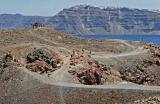 Santorini - Discovering the volcanic island of Nea Kameni