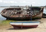 Dans la baie de la presquîle de Gâvres face à Port-Louis