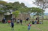 Visite d'une école de brousse près de la réserve de Masaï-Mara