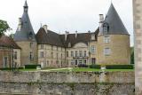 Visite du chateau de Commarin dans la Côte d'Or, en Bourgogne