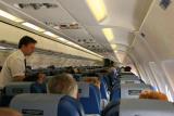 Pendant notre vol vers la Corse