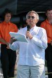 Nelson Montfort, grand animateur de cette cérémonie de baptême
