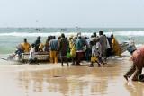 Sénégal - Retour des pêcheurs au port de Kayar
