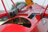 Meeting aérien de la Ferté Alais 2008 - Détail du Fokker Dr 1, l'avion du Baron rouge !