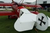 Meeting aérien de la Ferté Alais 2008 - Fokker Dr 1, l'avion du Baron rouge !