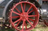 Antelope Island farm tractor
