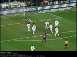 Eto'o scores the first goal:  Real Madrid-Barcelona 0-1