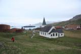Grytviken, approach from land