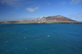 Penguin Island in sunshine