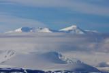 Booth Island mountain tops
