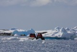 Arched iceberg
