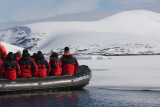 Approaching sea ice