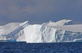 A hair-clip iceberg