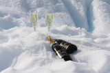 Champagne on ice(berg)
