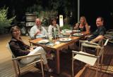 Deck dinner at Ionize