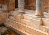 Marble steps, Hadrianic Baths